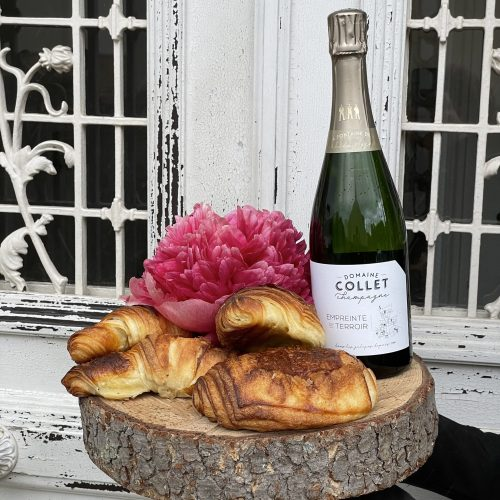 Petit dejeuner et Champagne